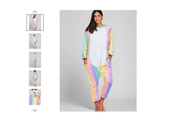11,20€ la combinaison pyjama adulte Pegasus