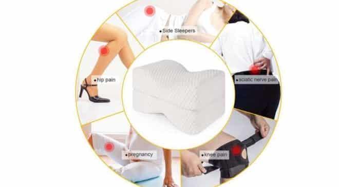 16,09€ le coussin orthopédique pour genoux