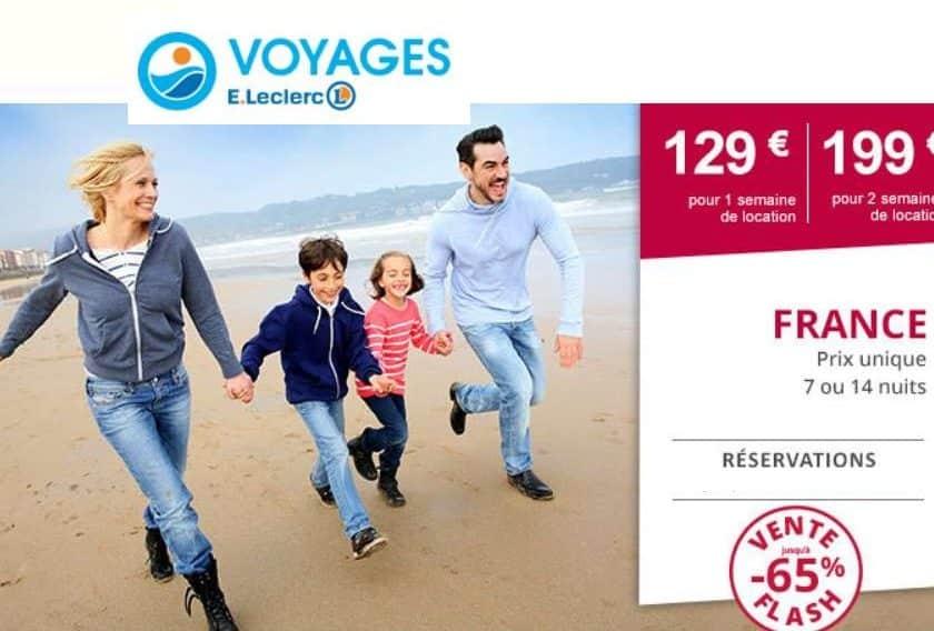 2 semaines 199€ Leclerc Voyages