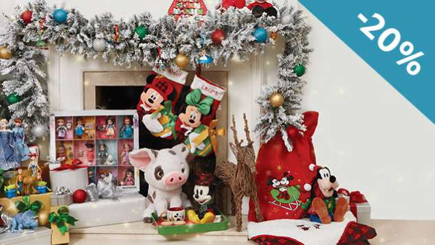 20% de réduction sur le site Disney Store