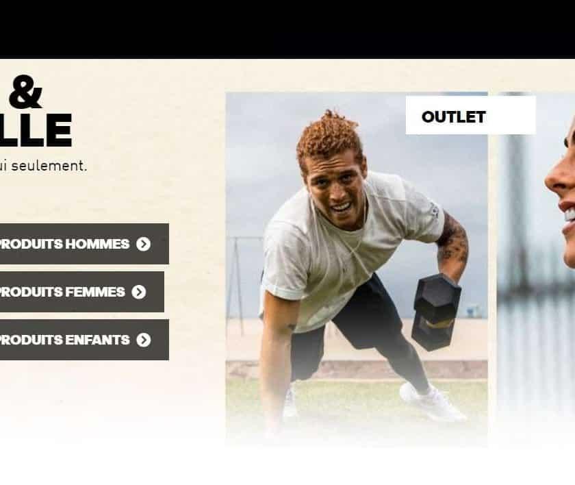 25% de remise sur tout le site Adidas Outlet