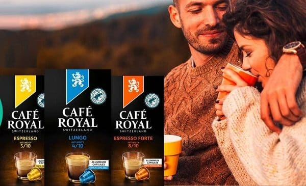 30% sur les capsules espresso café royal compatibles nespresso