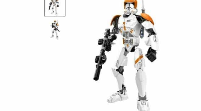 3,82€ la figurine soldat Clone StarWars 26 cm