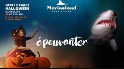 Billet Spéciale Halloween à Marineland et Kid's Island pas cher 2
