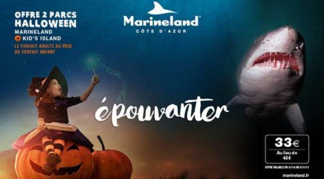 Billet Spéciale Halloween à Marineland et Kid's Island pas cher