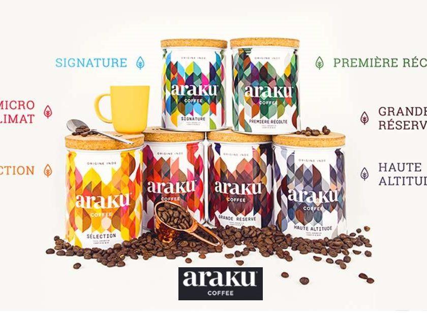 Bon d'achat Araku Coffee moitié prix