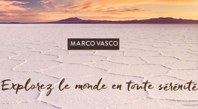 Bon d'achat Marco Vasco voyage personnalisé en ligne