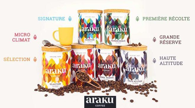 Bon d'achat Araku Coffee moitié prix : 15€ pour 30€ d'achats (cumulable promo, en ligne ou boutique)