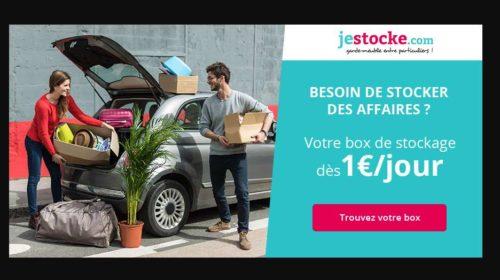 Box de stockage pas cher avec JeStocke