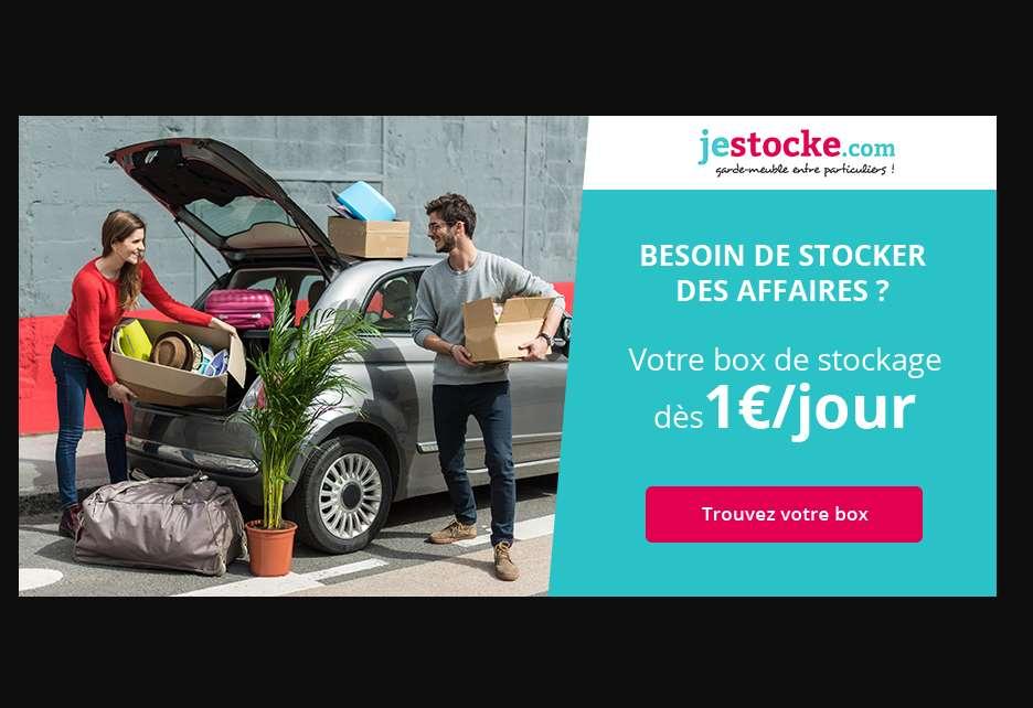 Box de stockage pas cher d s 1 jour jestocke stockage entre - Magasin deco pas cher en ligne ...