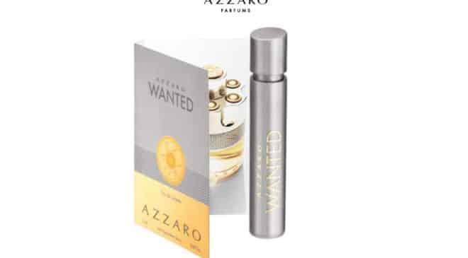 Echantillon gratuit de parfum Azzaro Wanted