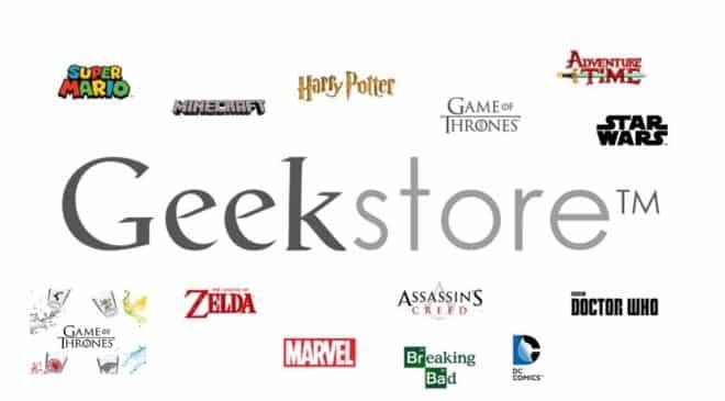 Geek Store mode, objets, déco, jouets fans de jeux vidéo