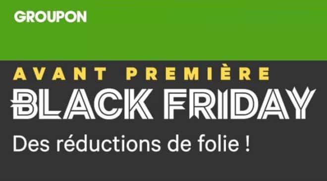 Groupon Black Friday avant-première