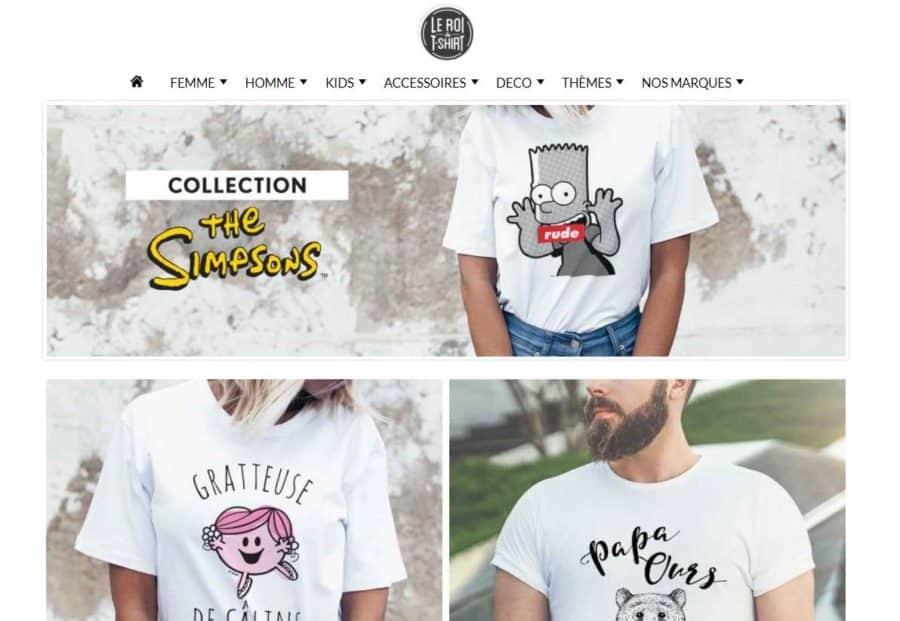 Shirts fantaisies simpson monsieur madame livraison gratuite - Livraison gratuite bazarchic ...