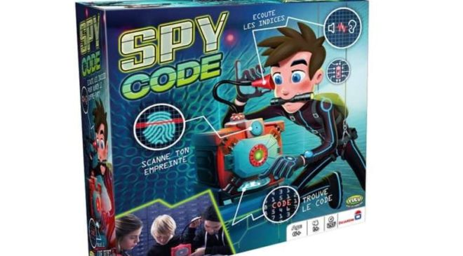 Moins de 10€ le jeu Spy code de Dujardin