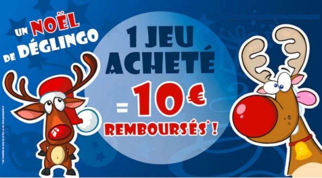 Offre de Noel TF1 Games 🎅 1 jeu acheté = 10€ remboursé
