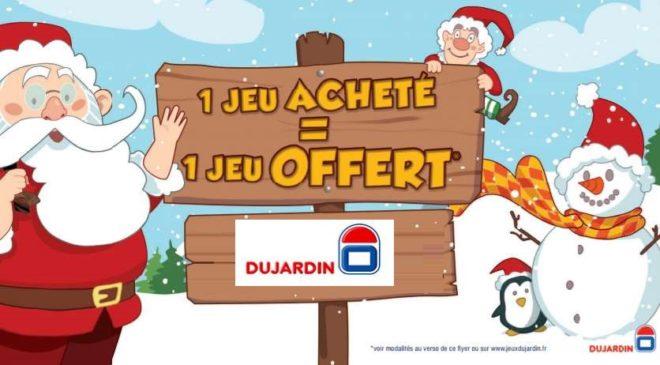 Offre de Noel jeu Dujardin