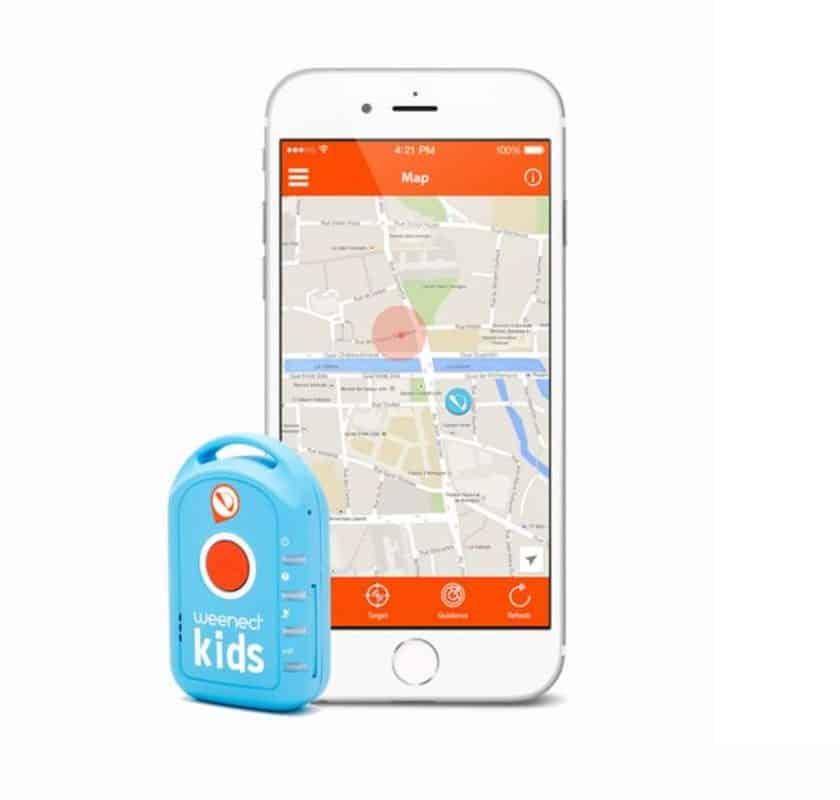 Offre traceur GPS pour enfant Weenect Kids