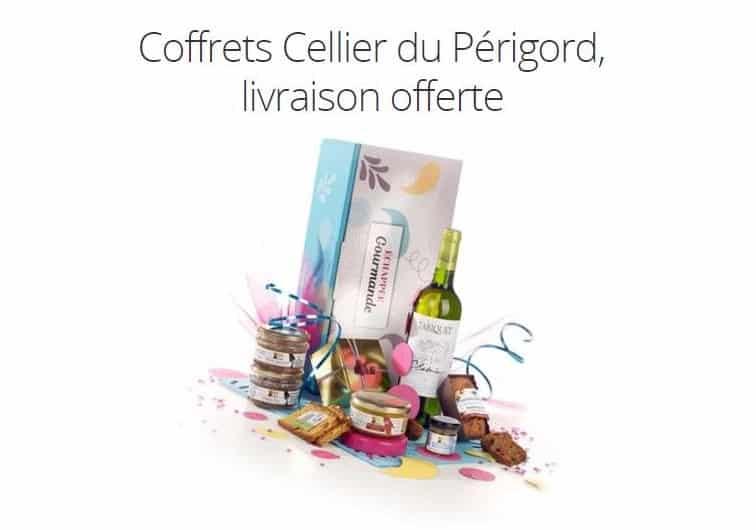 Panier gourmand Tariquet de Cellier du Périgord