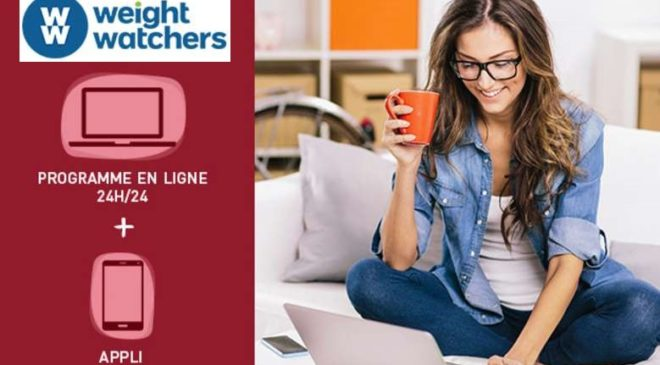 Programme Online + Appli Weight Watchers moins cher