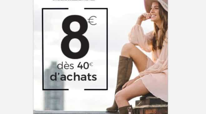 Remise de 8€ sur ChaussExpo