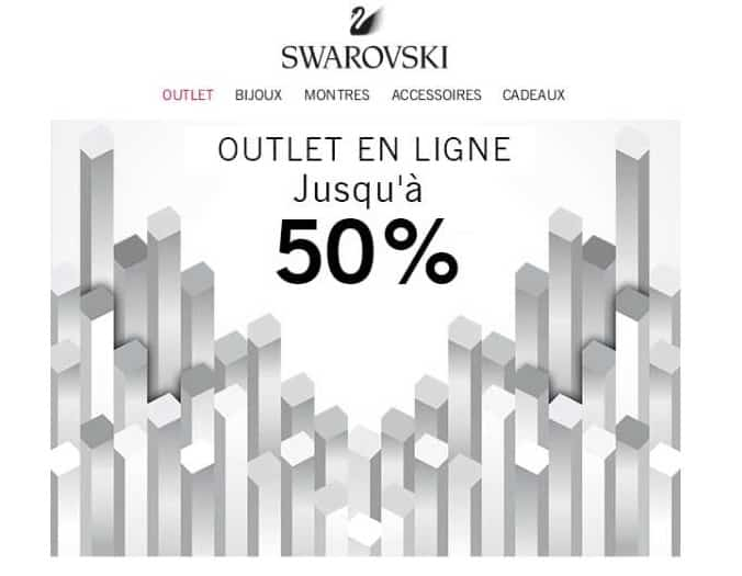 Vente flash Outlet Swarovski
