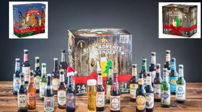 calendrier Avent avec des Bières pas cher