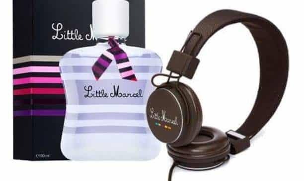 coffret Little Marcel Purple Love : eau de parfum 100 ml + Casque Audio