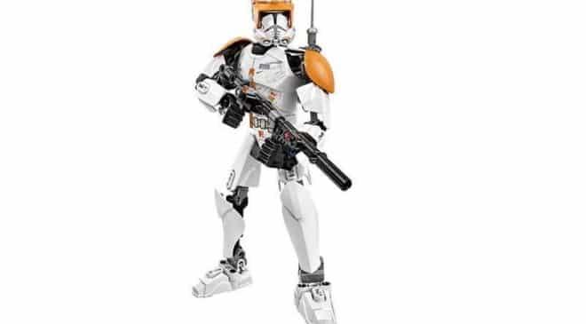 figurine soldat Clone StarWars 23,5 cm