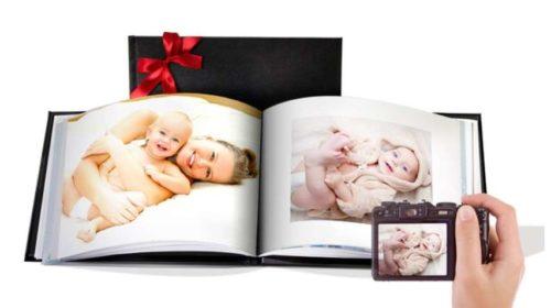 livre photo couverture rigide A5 20 pages