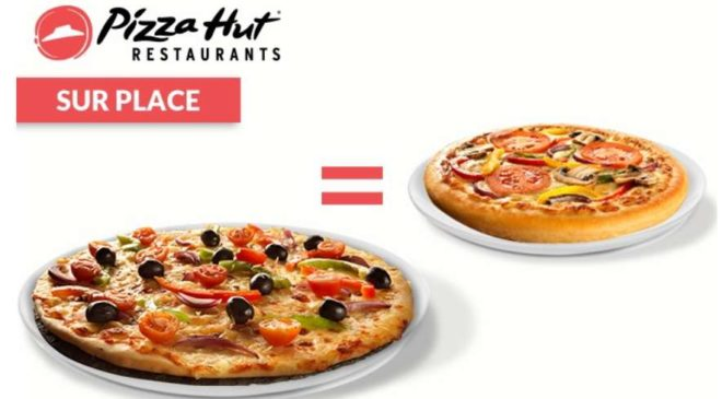 1 pizza = 1 pizza gratuite chez Pizza Hut