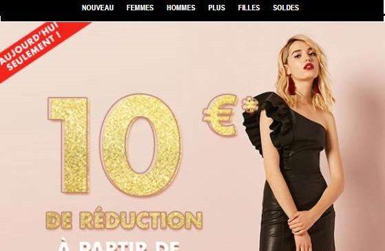 10€ de remise sur Forever 21