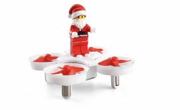 11,32€ le mini-drone Père Noel JJRC H67