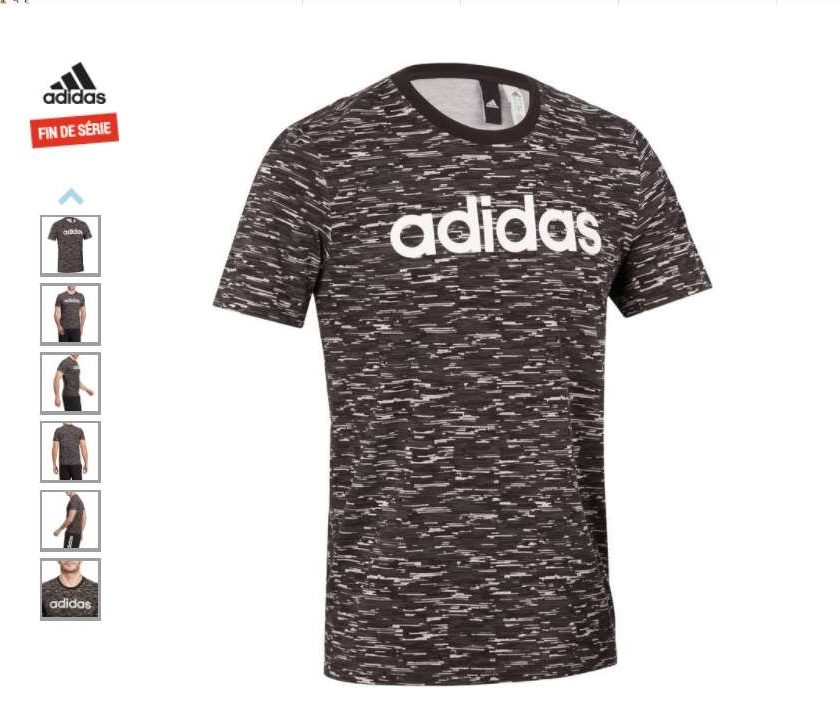 14,99€ le t-shirt homme Adidas Gym-Pilates
