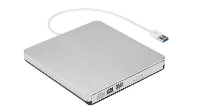 17,59€ seulement le lecteur-graveur portable USB 3.0 pour DVD - CD KKmoon