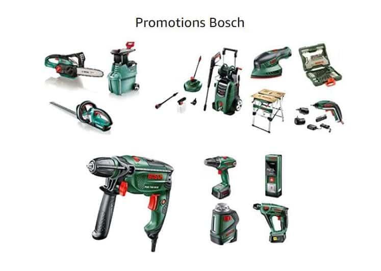 20% de remise sur Bosch Bricolage et Jardinage