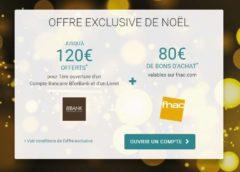 200€ offert pour l'ouverture d'un compte BforBank + livret épargne
