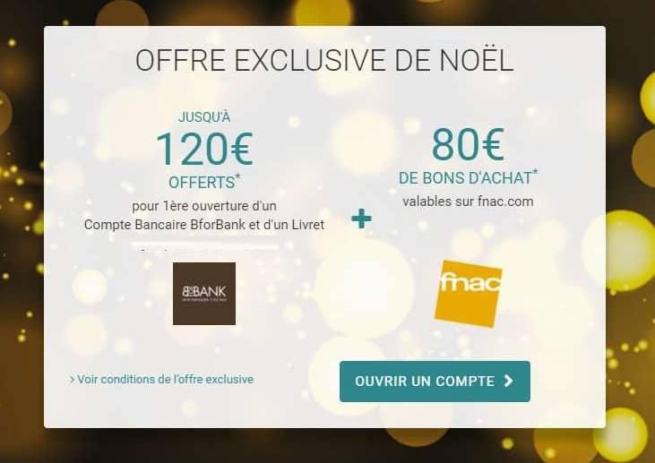 200€ offert pour l'ouverture d'un compte BforBank