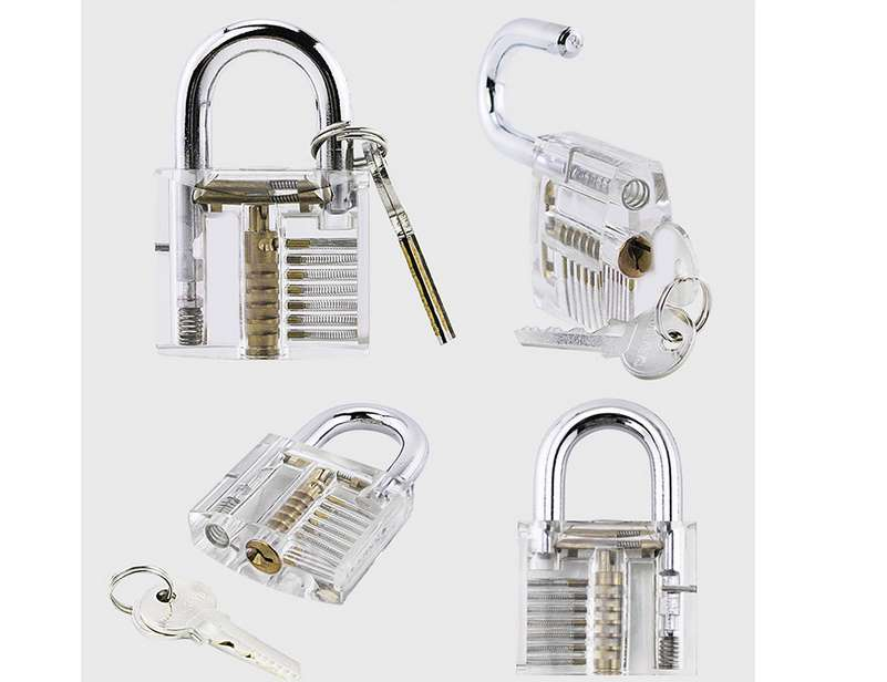 3,46€ le cadenas transparent éducatif