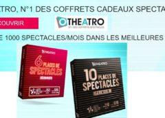 5€ de remise sur tous les coffrets spectacles Otheatro