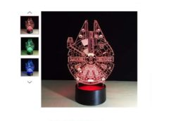 FLASH : 8,15€ la lampe vaisseau Millennium Falcon port inclus