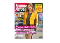 Abonnement magazine Femme Actuelle pas cher : 46€ l'année (hebdo 52N°) au lieu de 104€
