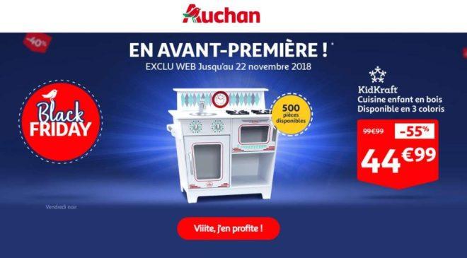 Avant-Première Black Friday Auchan