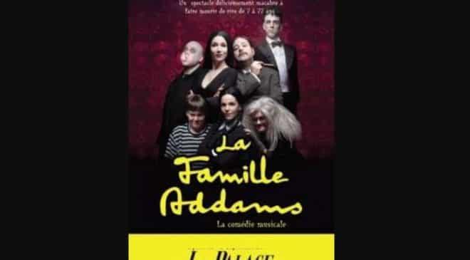 Billet comédie musicale la Famille Addams pas cher