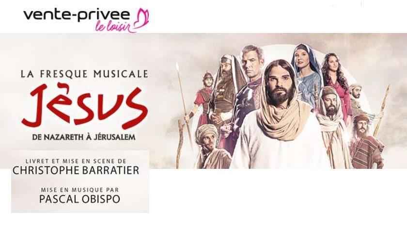 Billet fresque musicale la Jésus, de Nazareth à Jérusalem pas cher
