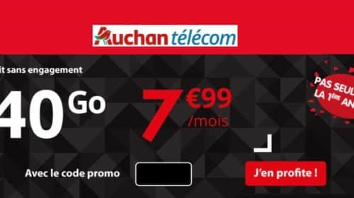 Black Friday Auchan Telecom