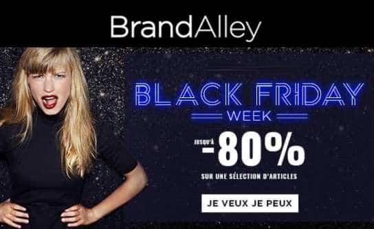 Black Friday Brandalley : jusqu'à -80% (dès maintenant et jusqu'au Cyber Monday)