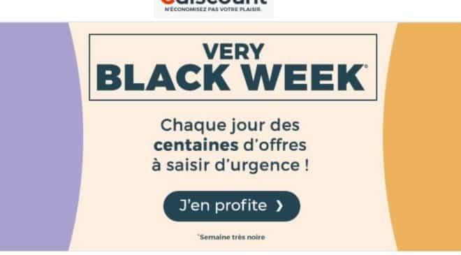 Black Friday Cdiscount Very Black Week