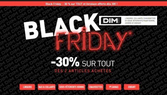 Black Friday DIM