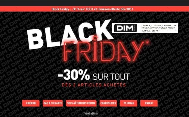 Black Friday DIM